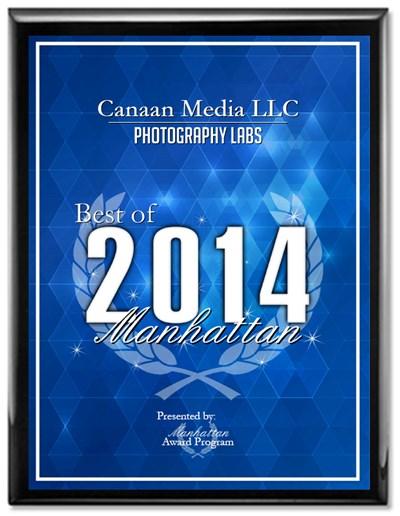 Canaan Media LLC Receives 2014 Best of Manhattan Award