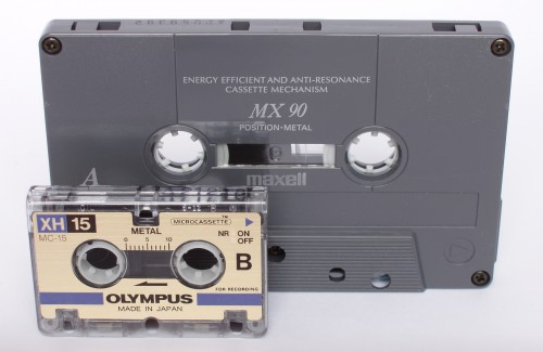 Transfer Microcassette to Digital