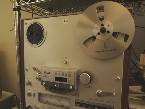 "Transfer ¼"" Reel-to-Reel to Digital"