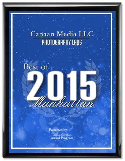 2015 Best of Manhattan Award